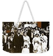 Pancho Villa's Wedding To Luz Corral On May 29 1911-2013 Weekender Tote Bag