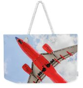 Passenger Jet Coming In For Landing  Weekender Tote Bag