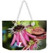 Passiflora Weekender Tote Bag