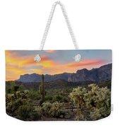 Pastel Desert Skies  Weekender Tote Bag