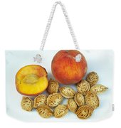 Peaches And Pits Weekender Tote Bag