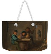 Peasants In A Tavern Weekender Tote Bag
