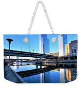 Philly Over The Schuylkill Weekender Tote Bag