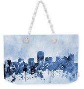 Phoenix Skyline-blue Weekender Tote Bag