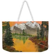 Pine Lake Weekender Tote Bag