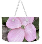 Pink Dogwood Weekender Tote Bag