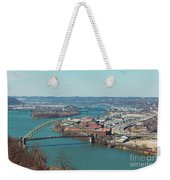 Pittsburg Skyline Weekender Tote Bag