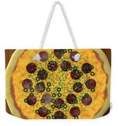Pizza Weekender Tote Bag