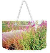 Pond In The Bershire Mountains, Massachusetts Weekender Tote Bag