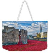 Poppies At The Tower Of London Weekender Tote Bag