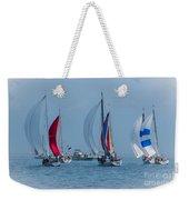Port Huron To Mackinac Race 2015 Weekender Tote Bag