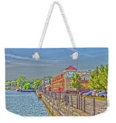 Port Of Rochester Weekender Tote Bag by William Norton