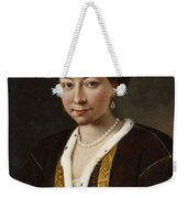 Portrait Of A Russian Lady Weekender Tote Bag