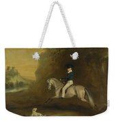 Portrait Of George Weekender Tote Bag