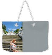 Portugal Woman Tourist Weekender Tote Bag