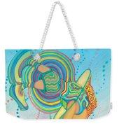 Quantum Leap Weekender Tote Bag