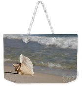 Queen Conch On The Beach Weekender Tote Bag