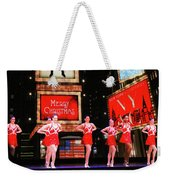 Radio City Rockettes New York City Weekender Tote Bag