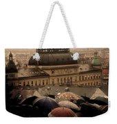 Rain Weekender Tote Bag