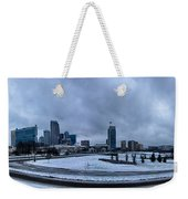 Rare Winter Weather In Charlotte North Carolina Weekender Tote Bag