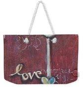 Red Geisha Love 1 Weekender Tote Bag