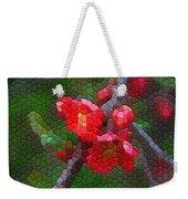 Red Quince Weekender Tote Bag