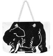 Republican Elephant, 1874 Weekender Tote Bag