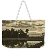Rice Field Sunrise - Indonesia Weekender Tote Bag