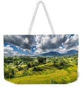 Rice Terrace Weekender Tote Bag