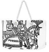 Richard I (1157-1199) Weekender Tote Bag