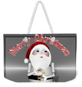 Robo-x9 Wishes A Merry Christmas Weekender Tote Bag