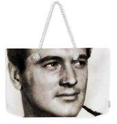 Rock Hudson, Vintage Hollywood Legend Weekender Tote Bag
