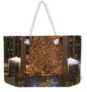 Rockefeller Center And The Famous Weekender Tote Bag