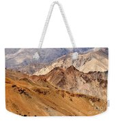 Rocks And Stones Mountains Ladakh Landscape Leh Jammu Kashmir India Weekender Tote Bag