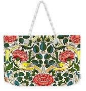 Rose Design Weekender Tote Bag