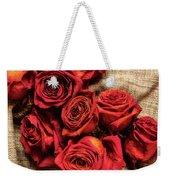 Rose - Flower Weekender Tote Bag