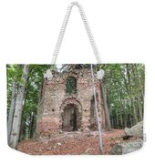 Ruins Of The Baroque Chapel Of Saint Mary Magdalene Weekender Tote Bag