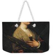 Saint Catherine Weekender Tote Bag