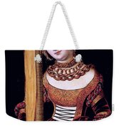 Saint Helena With The Cross Weekender Tote Bag