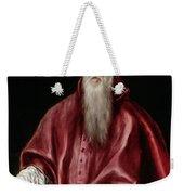 Saint Jerome As Scholar Weekender Tote Bag