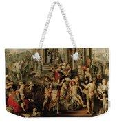 Saint Paul And Saint Barnabas At Lystra Weekender Tote Bag