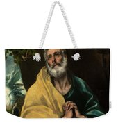 Saint Peter In Tears Weekender Tote Bag