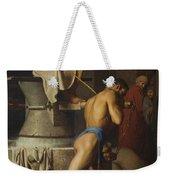 Samson And The Philistines Weekender Tote Bag