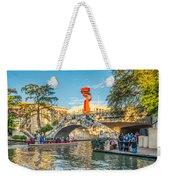 San Antonio River Walk Weekender Tote Bag