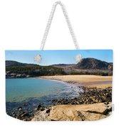 Sand Beach Acadia National Park Weekender Tote Bag