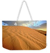 Sand Dune At Great Sand Hills In Scenic Saskatchewan Weekender Tote Bag