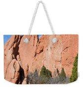 Sandstone Spires In Garden Of The Gods Weekender Tote Bag