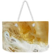 Sandy Wave Weekender Tote Bag