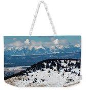 Sangre De Cristo Mountains In Winter Weekender Tote Bag