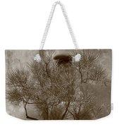 Santa Fe - Adobe Building And Tree Weekender Tote Bag